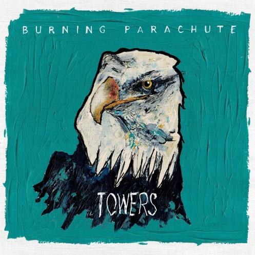 burning parachute
